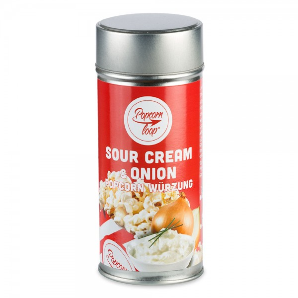 Popcornzubereitung Sour Cream & Onion