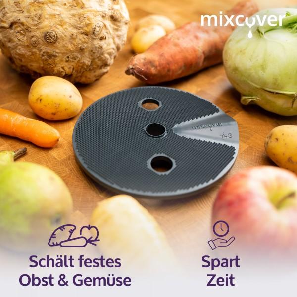 Kartoffelschäler Veggi Schäler-Aufsatz kompatibel mit dem Thermomix TM6 / TM5 / TM31
