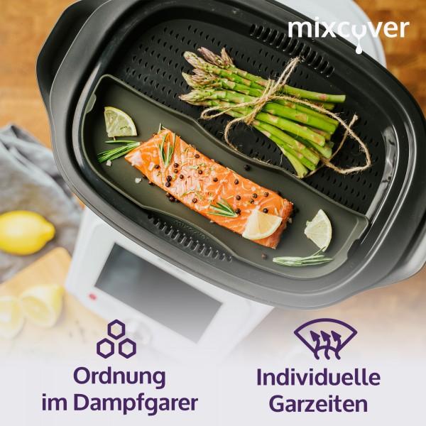 Dampfgarform geteilt für Monsieur Cuisine Connect Einlegeboden