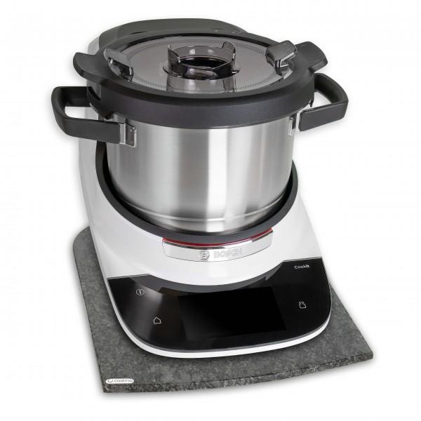 Gleitbrett aus Granit *Steel Grey* für Cookit