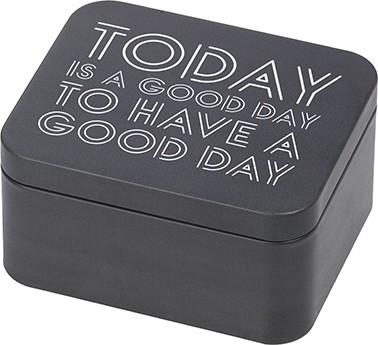 GESCHENKBOX | GOOD DAY, GRAU