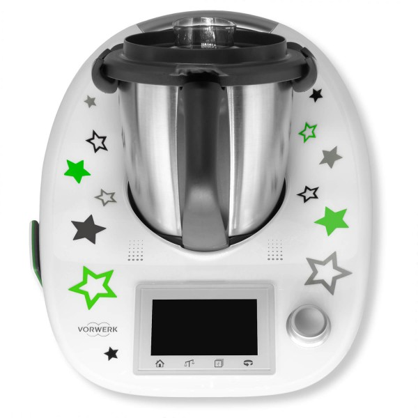 "Thermomix® Sticker Grün ""Sternentanz"""