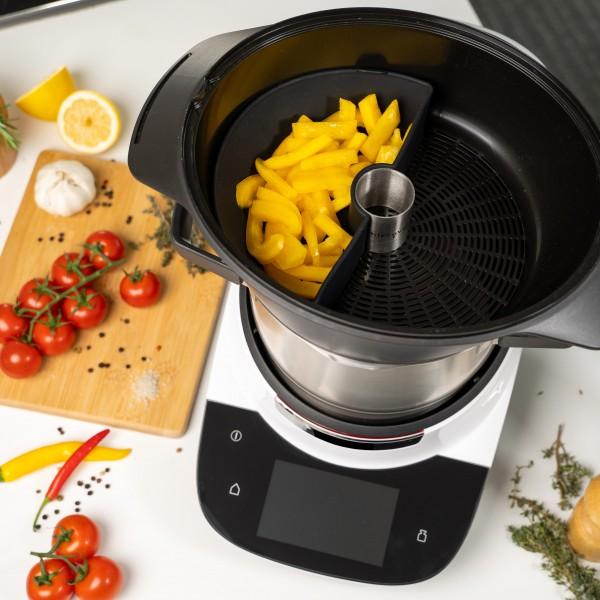 Garraumteiler (hälftig) für Bosch Cookit
