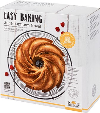 GUGELHUPFFORM NOVÉL | EASY BAKING
